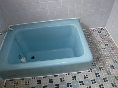 浴室のシーリング打ち換え④